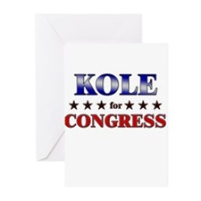 KOLE for congress Greeting Cards (Pk of 20)