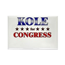 KOLE for congress Rectangle Magnet