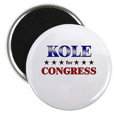 KOLE for congress Magnet