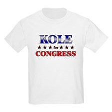 KOLE for congress T-Shirt