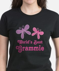 Best Grammie Butterfly T-Shirt