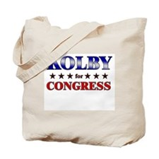 KOLBY for congress Tote Bag