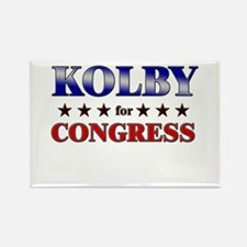 KOLBY for congress Rectangle Magnet