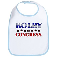 KOLBY for congress Bib