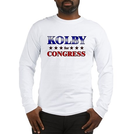 KOLBY for congress Long Sleeve T-Shirt