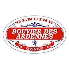 BOUVIER DES ARDENNES Oval Bumper Stickers