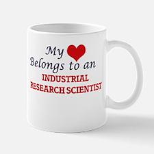 My Heart Belongs to an Industrial Research Sc Mugs