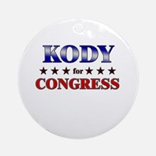 KODY for congress Ornament (Round)