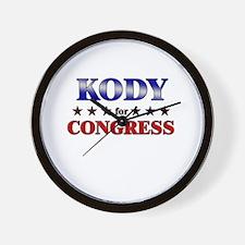 KODY for congress Wall Clock
