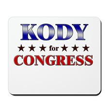 KODY for congress Mousepad