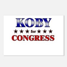 KOBY for congress Postcards (Package of 8)
