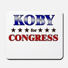 KOBY for congress Mousepad