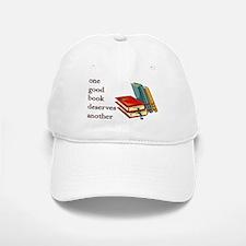 One Good Book Deserves Another Baseball Baseball Cap
