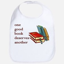 One Good Book Deserves Another Bib