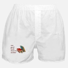 One Good Book Deserves Another Boxer Shorts