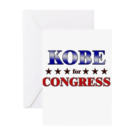 KOBE for congress Greeting Card