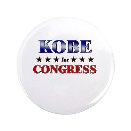 """KOBE for congress 3.5"""" Button"""