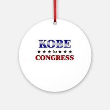 KOBE for congress Ornament (Round)