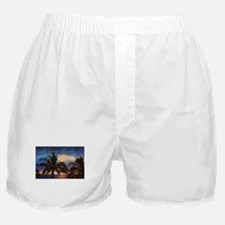 hawaiian paradise Boxer Shorts
