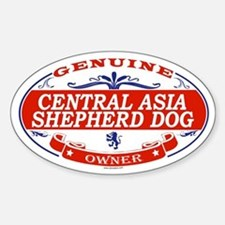 CENTRAL ASIA SHEPHERD DOG Oval Decal