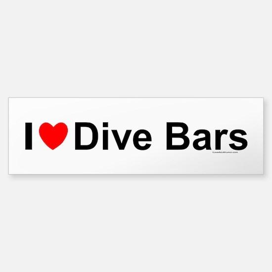 Dive Bars Sticker (Bumper)