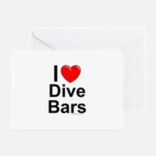 Dive Bars Greeting Card