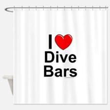 Dive Bars Shower Curtain