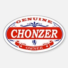 CHONZER Oval Decal