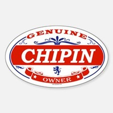 CHIPIN Oval Decal
