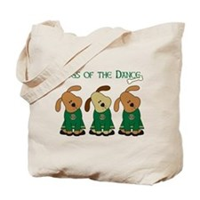 Dogs Of The Dance Tote Bag