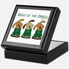 Dogs Of The Dance Keepsake Box