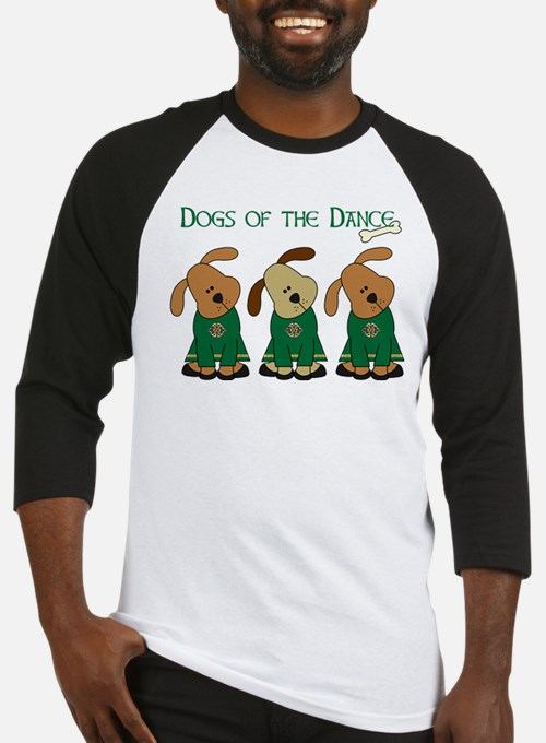 Dogs Of The Dance Baseball Jersey