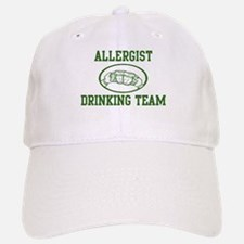 Allergist Drinking Team Baseball Baseball Cap
