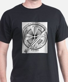 Odin's Shield & Sword B& T-Shirt