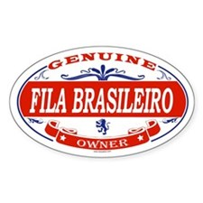 FILA BRASILEIRO Oval Decal