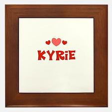 Kyrie Framed Tile