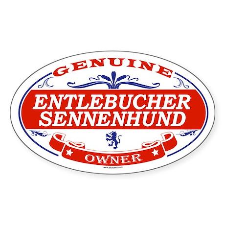 ENTLEBUCHER SENNENHUND Oval Sticker