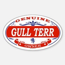 GULL TERR Oval Decal