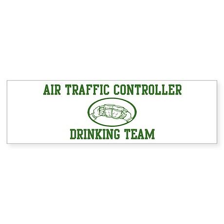Air Traffic Controller Drinki Bumper Sticker