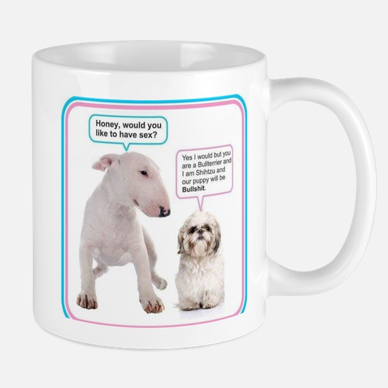 Dog humor Mugs
