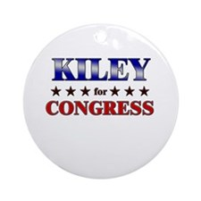 KILEY for congress Ornament (Round)