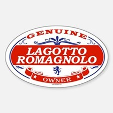 LAGOTTO ROMAGNOLO Oval Decal