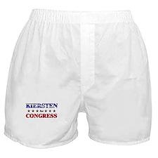 KIERSTEN for congress Boxer Shorts