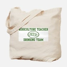 Agriculture Teacher Drinking  Tote Bag