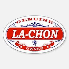 LA-CHON Oval Decal