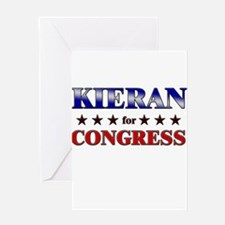 KIERAN for congress Greeting Card