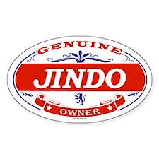 JINDO Oval Decal
