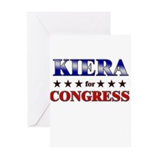 KIERA for congress Greeting Card
