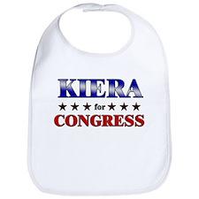 KIERA for congress Bib