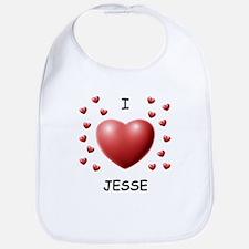 I Love Jesse - Bib